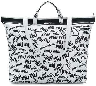 Miu Miu signature tote bag