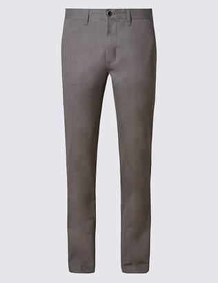 Marks and Spencer Big & Tall Straight Fit Pure Cotton Chinos