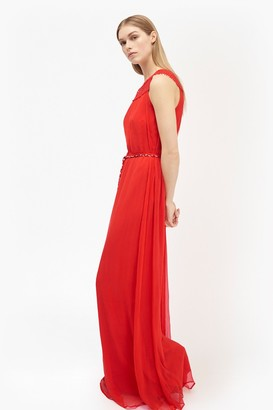French Connection Amboselli Beaded Maxi Dress