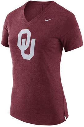 Nike Women's Oklahoma Sooners Fan V Top T-Shirt