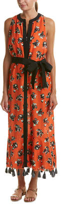 Proenza Schouler Silk-Blend Cover-Up Dress