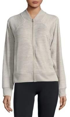 Calvin Klein Collection Heathered Bomber Jacket