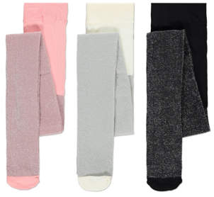 George Sparkle Tights 3 Pack