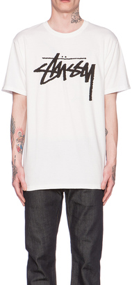 Stussy Stock Tee $28 thestylecure.com