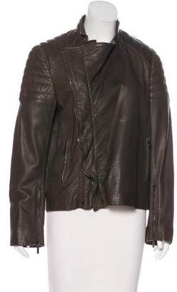 Haider Ackermann Leather Quilted Jacket