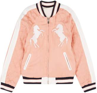 Chloé Reversible Horse Bomber Jacket