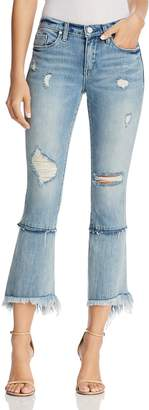 Blank NYC Blanknyc Distressed Cropped Flared Jeans in Lose My Mind - 100% Exclusive