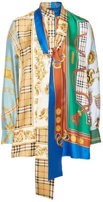 Burberry Printed Silk Blouse