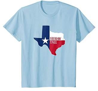Yeehaw Y'all Texas Love Star T-Shirt