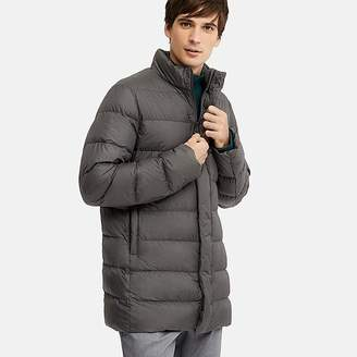 Uniqlo Men's Ultra Light Down Puffer Half Coat (online Exclusive)
