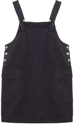 Mint Velvet Ink Corduroy Pinafore Dress