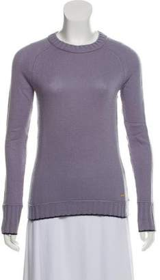 Tory Burch Long Sleeve Crew Neck Sweatshirt