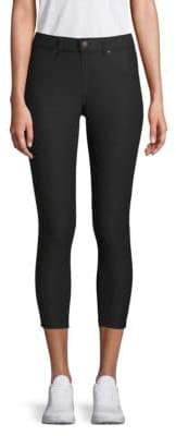 Hue Cotton-Blend Capris Jeggings
