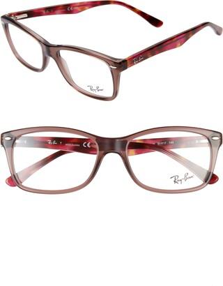 Ray-Ban 53mm Square Optical Glasses