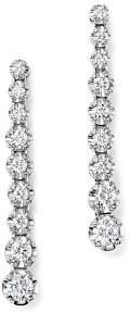 Bloomingdale's Diamond Graduated Drop Earrings in 14K White Gold, 0.80 ct. t.w. - 100% Exclusive