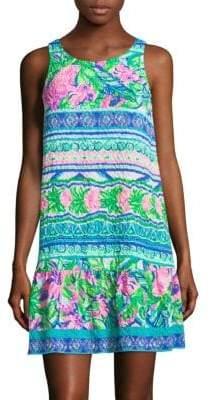 Lilly Pulitzer Gabriella Flounce Dress