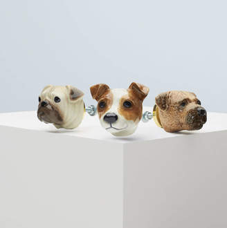And Mary Pampered Pooches Doorknob Collection