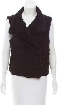 Marc by Marc Jacobs Rabbit Fur Wool Vest