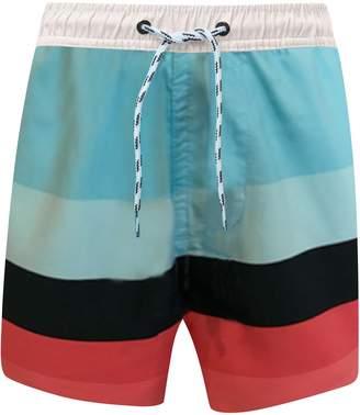 Snapper Rock Surf Stripe Board Shorts