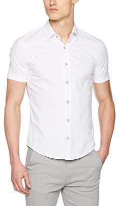 Cross Men's 35086 Casual Shirt, (White)