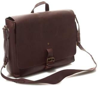 L.L. Bean L.L.Bean Signature Leather Messenger Bag