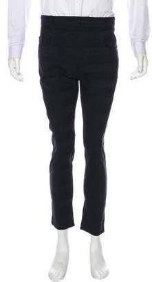 Haider Ackermann Striped Linen-Blend Pants