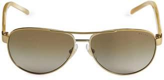 Ralph Lauren 59MM Pilot Sunglasses