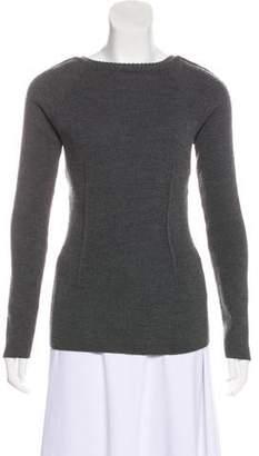 Miu Miu Virgin Wool-Blend Sweater