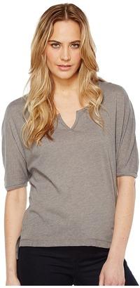 Alternative - Eco Gauze Roam Short Sleeve Tee Women's T Shirt $42 thestylecure.com