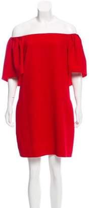 Trina Turk Off-The-Shoulder Dress