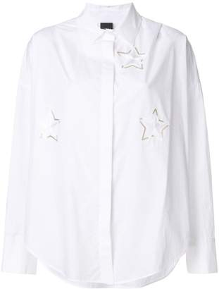 Lorena Antoniazzi long sleeves shirt with star details