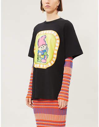 Moschino x Good Luck Trolls cotton-jersey T-shirt