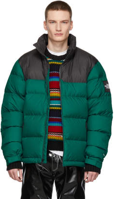 The North Face Green Down 1992 Retro Nuptse Jacket