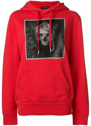 Alexander McQueen Skull print hoodie