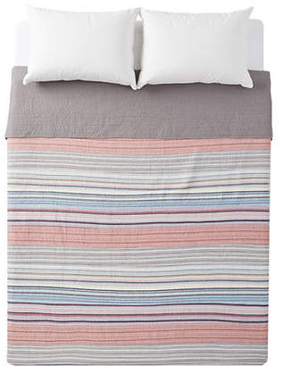 Martha Stewart Rustic Striped Quilt