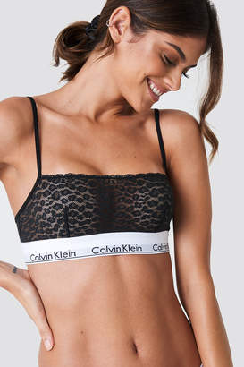 e05dcd9923 Calvin Klein Black Lace Bra - ShopStyle UK