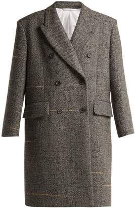 Calvin Klein Oversized double-breasted wool-blend coat