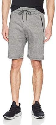Brooklyn Athletics Men's Jogger Shorts Zipper Pocket Active Workout Casual Short