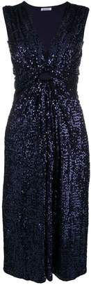 P.A.R.O.S.H. sequin drapped dress