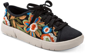 Bare Traps Belize Rebound Technology Embroidered Sneakers Women's Shoes