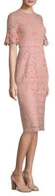 Shoshanna Alberti Floral Lace Dress