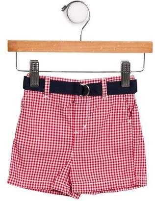 Ralph Lauren Boys' Belted Gingham Shorts