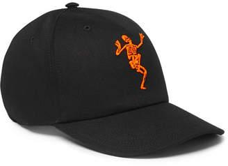 Alexander McQueen Embroidered Cotton-Twill Baseball Cap - Men - Black