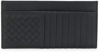Bottega Veneta nero nappa card case