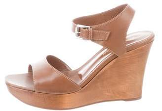 Gianvito Rossi Leather Ankle-Strap Sandals w/ Tags