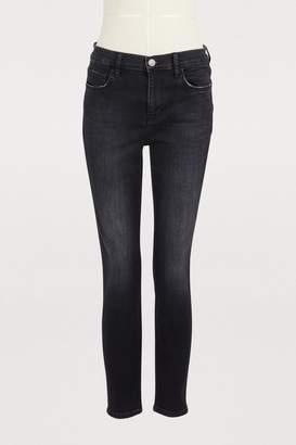 Current/Elliott Current Elliott The Stiletto high-waisted jeans