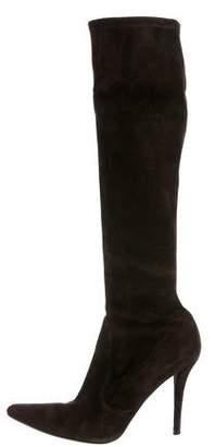 Stuart Weitzman Suede Knee-High Boots