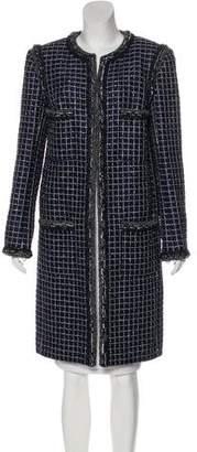 Chanel 2017 Paris-Cosmopolite Fantasy Tweed Coat w/ Tags