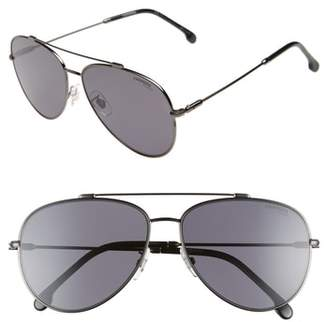 Carrera Eyewear 62mm Polarized Aviator Sunglasses