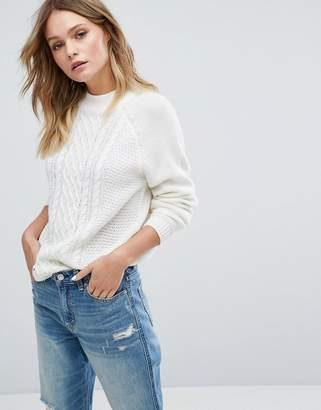 Jdy Cable Knit Jumper